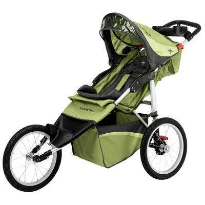 Schwinn Arrow Fixed Wheel Jogging Stroller