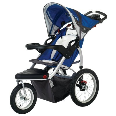 Schwinn Turismo Swivel Wheel Jogging Stroller