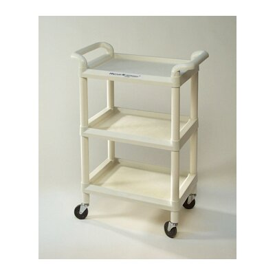 Mettler 73 3-Shelf Plastic Cart