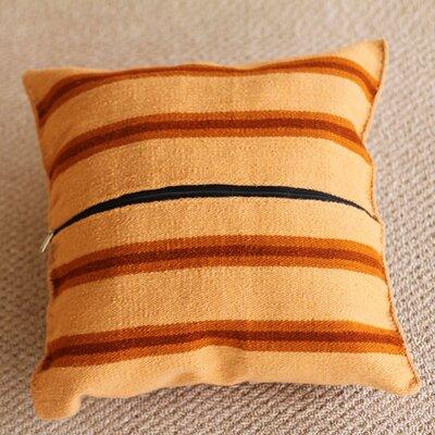 Novica The Eliazar Ochoa Wool Cushion Cover