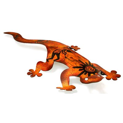 Novica Cave Art Gecko Wall Décor