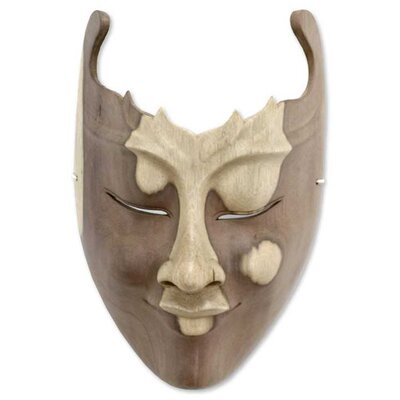 Novica Cutout Mask Wall Décor