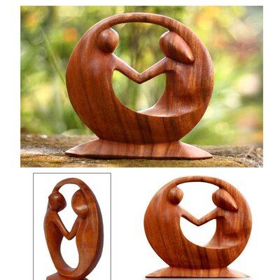 Novica 'World Peace' Sculpture