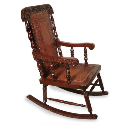 Novica Nobility Rocking Chair