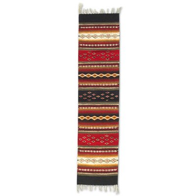 Diamond Path Zapotec Rug