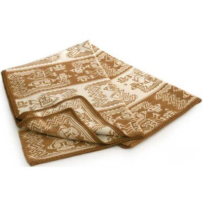 Paracas Coast Wool / Acrylic Throw Blanket