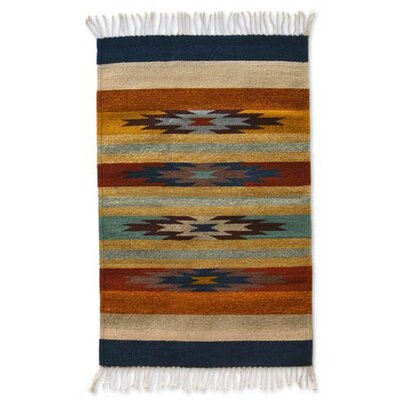 Stars on the Horizon Zapotec Rug