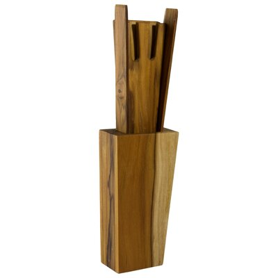 Novica Jan and Maria Jose Artisan  Eco Versatile Teakwood Spatula (Set of 4)