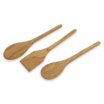 The Victor Hugo Lopez 3 Piece Cedar Spatulas
