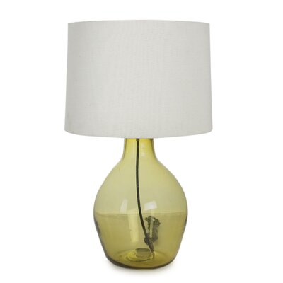 "Novica The Javier and Efren 14.3"" H Blown Glass Table Lamp"