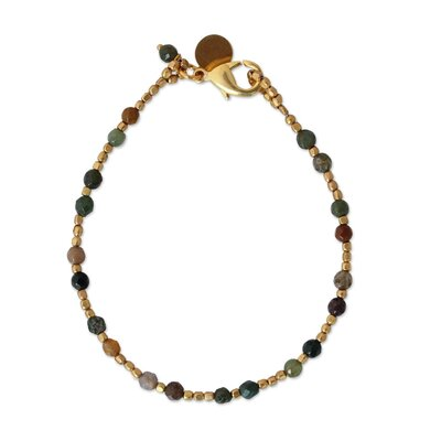 The Khun Boom Jasper Beaded Bracelet