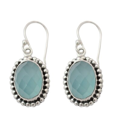 The Shanker Chalcedony Dangle Earrings