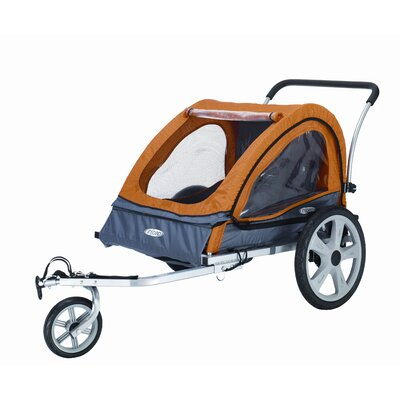 InSTEP Quick NEZ Bicycle Trailer Double Stroller