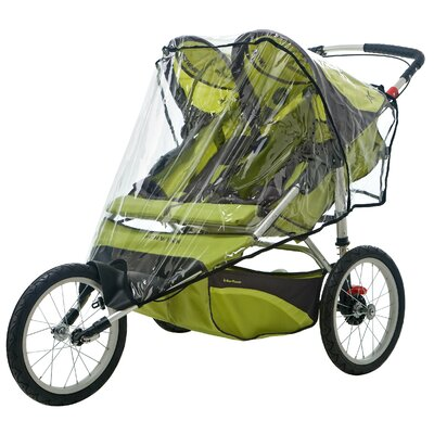 InSTEP Double Fixed Wheel Stroller Weather Shield Cover