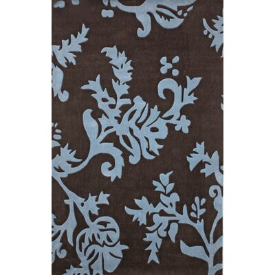 nuLOOM Cine Paisley Brown/Blue Rug