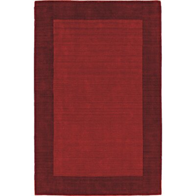 Structures Red Border Rug