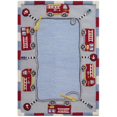 nuLOOM Kinder Jungle Play Kids Rug