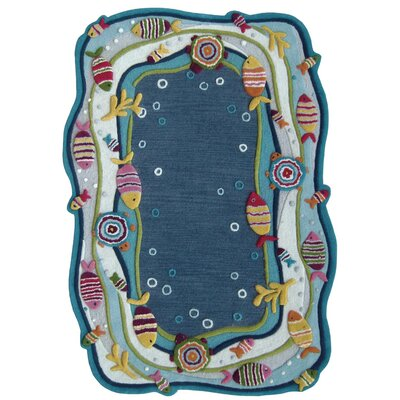 nuLOOM Kinder Under the Ocean Kids Rug