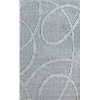 nuLOOM Gradient Loops Light Grey Rug