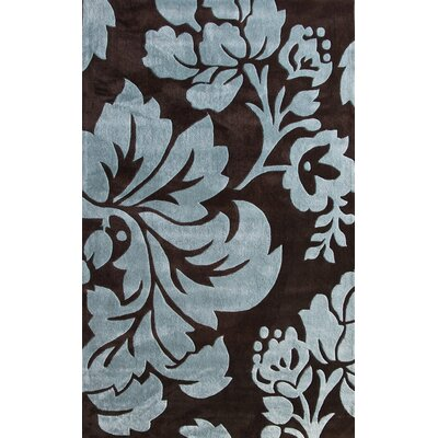 Cine Floral Brown/Blue Rug