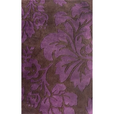 Cine Floral Purple Rug