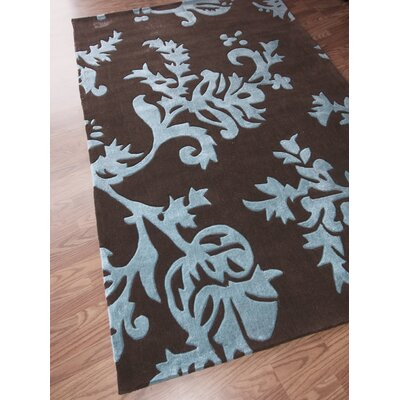 nuLOOM Cine Pasleys Brown Rug
