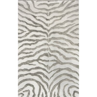 nuLOOM Earth Soft Zebra Grey Rug