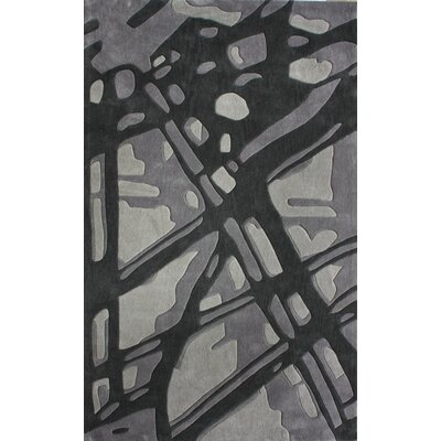 nuLOOM Cine Paint Splatter Grey Rug