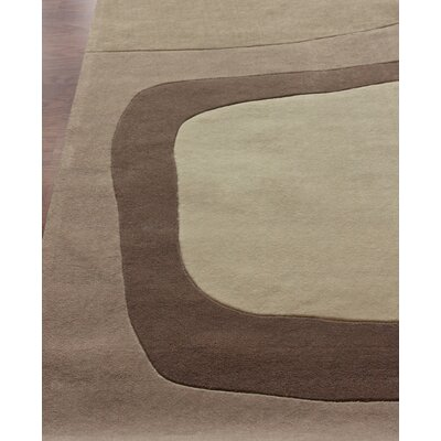 nuLOOM Cine Franz Charcoal Rectangular Contemporary Rug