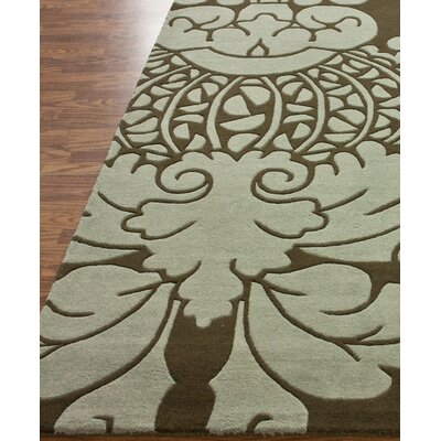 nuLOOM Fancy Sage Green Fantasy Rug