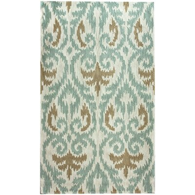nuLOOM Pop Only Hearts Beige/Blue Rug