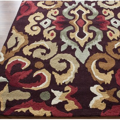 nuLOOM Pop Harmony Brown Multi Rug