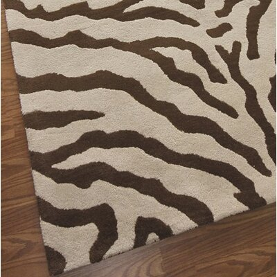 nuLOOM Zebra Brown Rug