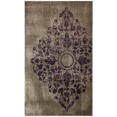 nuLOOM Couture Overdyed Grey Rug