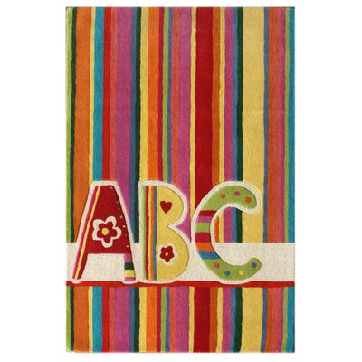 nuLOOM KinderLOOM ABC Multi Kids Rug