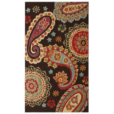 nuLOOM Pop Paisley Brown Rug