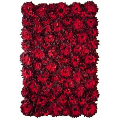 nuLOOM Moderna Sunflower Red Rug | Wayfair - Sunflower Rugs