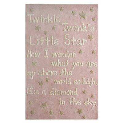 nuLOOM Marbella Trenton Baby Pink Novelty Rug
