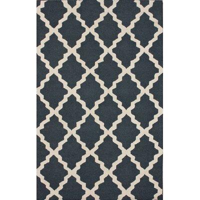 nuLOOM Moderna Charcoal Moroccan Trellis Rug