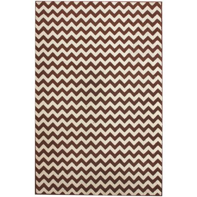 nuLOOM Allure Chevron Brown Rug