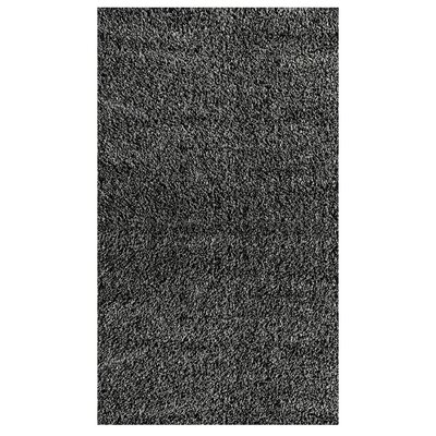 nuLOOM Shaggy Black/Grey Rug