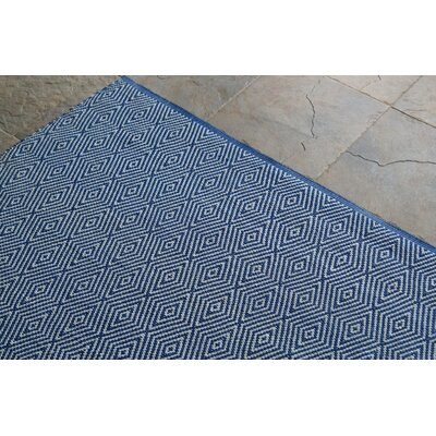 nuLOOM Keen Regal Blue Chevron Trellis Rug