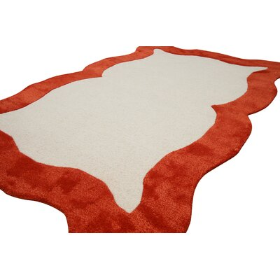 nuLOOM Fancy Orange Nanda Rug