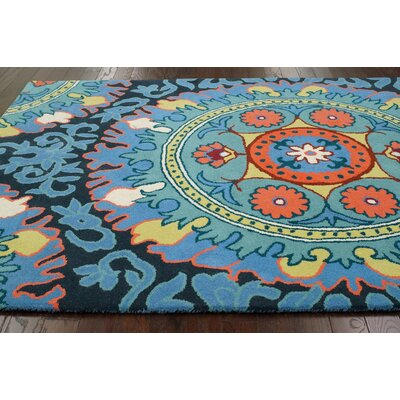 nuLOOM Fancy Blue Alejandra Rug