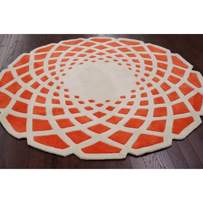 nuLOOM Cine Orange Crystal Rug
