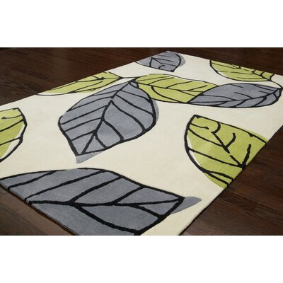 nuLOOM Cine Green Autumn Rug