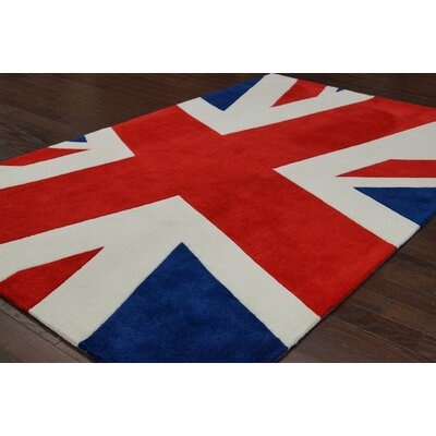nuLOOM Cine Multi Union Jack Novelty Rug