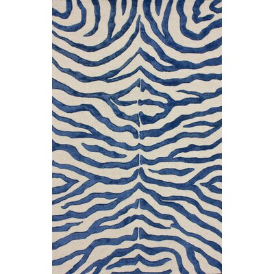 nuLOOM Earth Regal Blue Plush Safari Rug