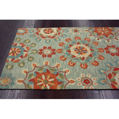 nuLOOM Pop Spa Blue Felicity Rug
