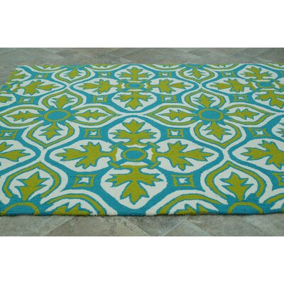 nuLOOM Homestead Lime Farida Rug